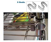 WIRE SHELVING S-HOOKS